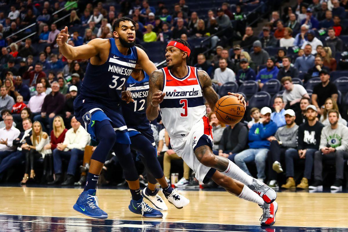 Washington Wizards v Minnesota Timberwolves