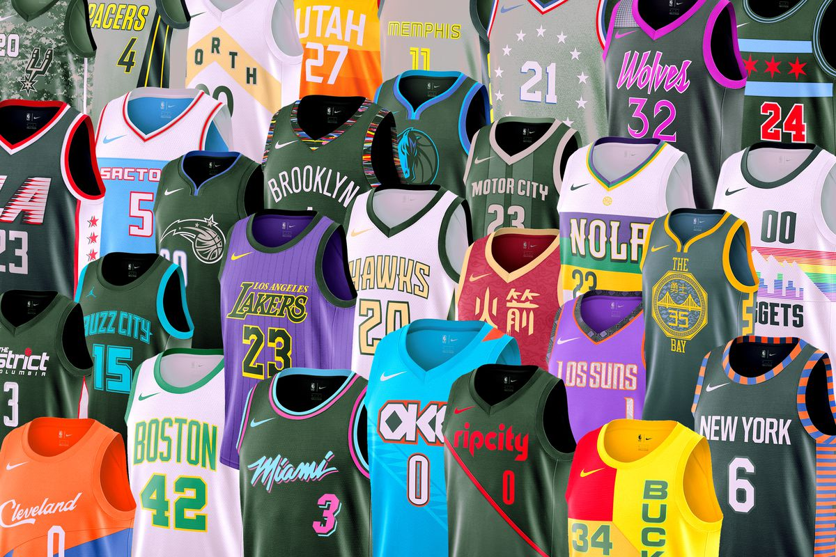 "promo code b33a7 a0d81 The Best and Worst of the NBA's New ""City Edition"" Jerseys ..."