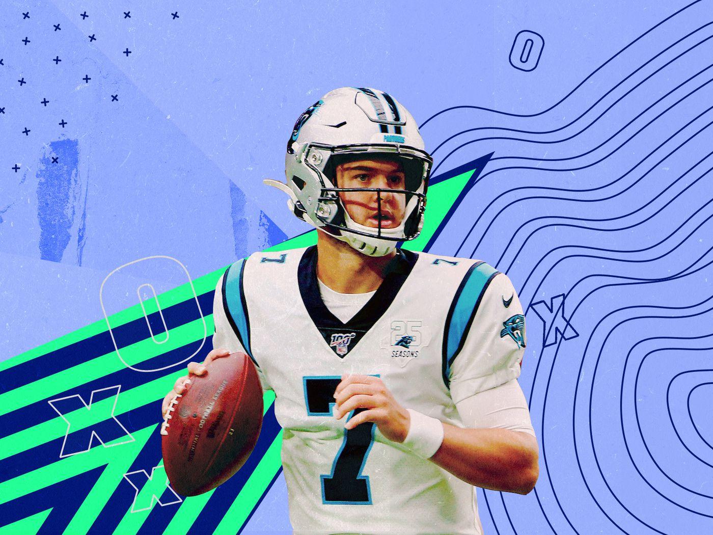 Meet Panthers quarterback Kyle Allen, Cam Newton's backup ...