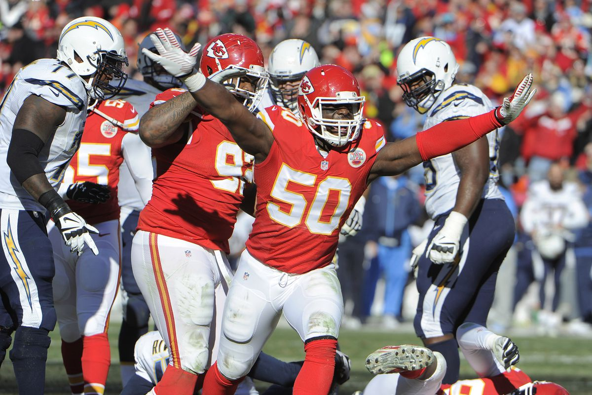 Justin Houston Chiefs agree to record 6 year $101 million deal
