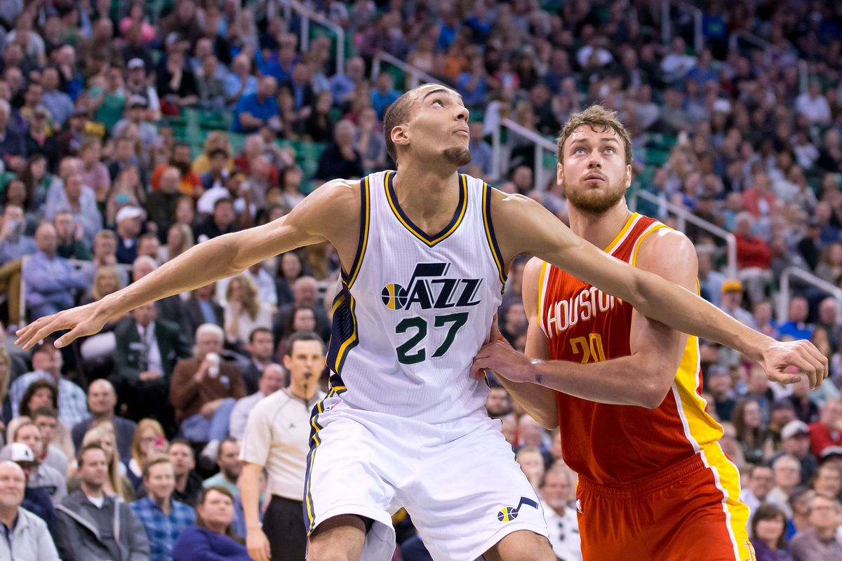 The Rockets had no answer for Rudy Gobert in the paint