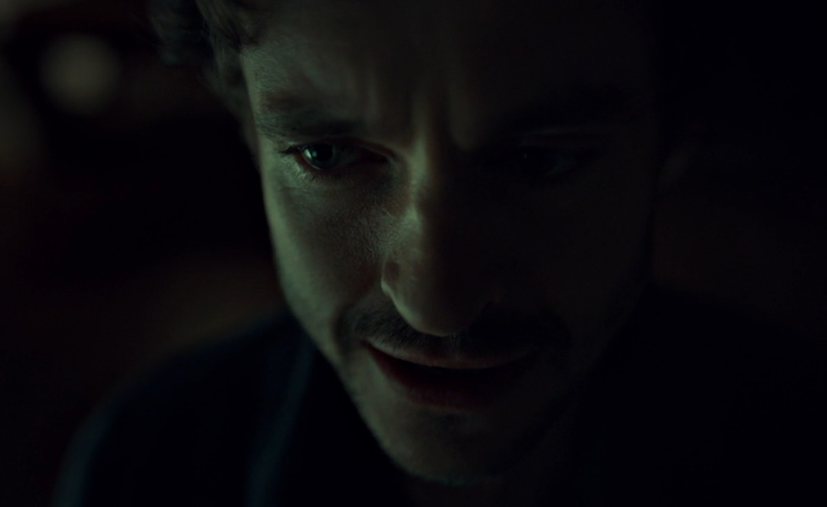 Will is losing his grip on things on Hannibal.