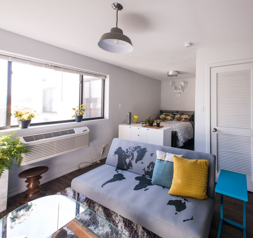 Looking For Apartments: How To Live Large In A 500 Square Foot Studio Apartment