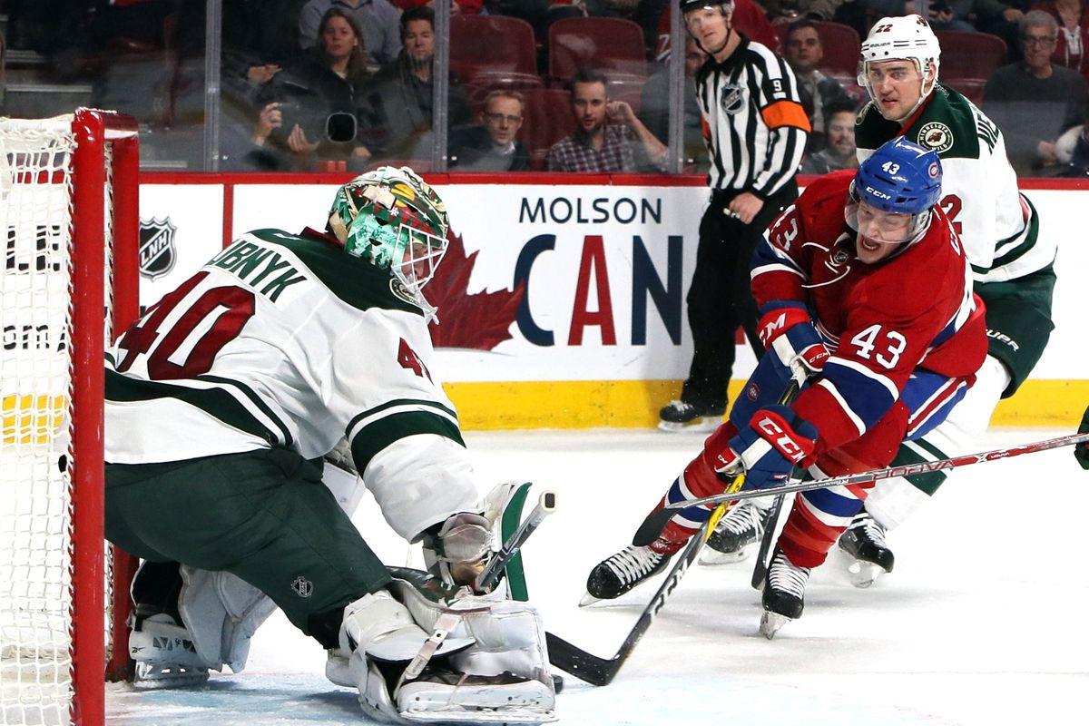 NHL: Minnesota Wild at Montreal Canadiens