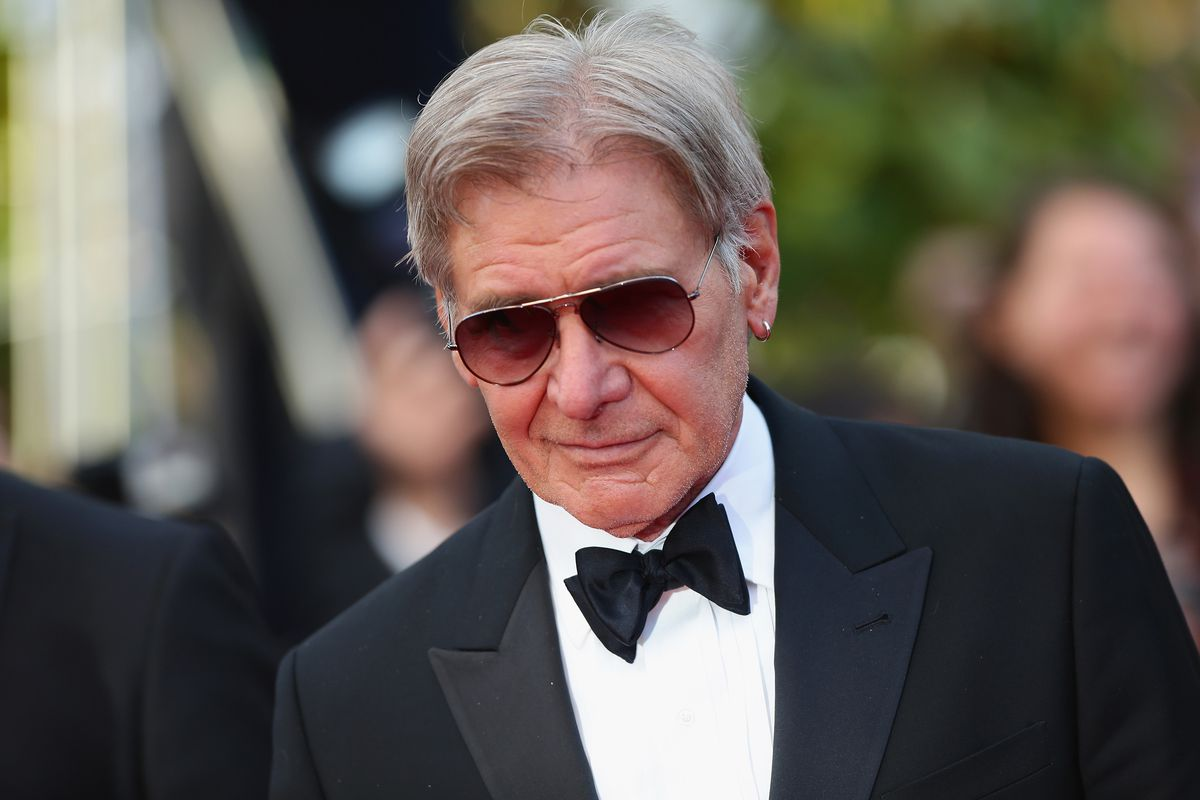 """As """"Air Force One"""" President, Harrison Ford Rooted For Michigan ..."""