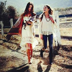 Ariat is one of the equestrian crossover brands that outfits both the rider and the non-rider. The boots are especially gorgeous whether you're trying to find cowboy ones or tall boots to wear over pants this fall and winter. Also, look for the brand's te