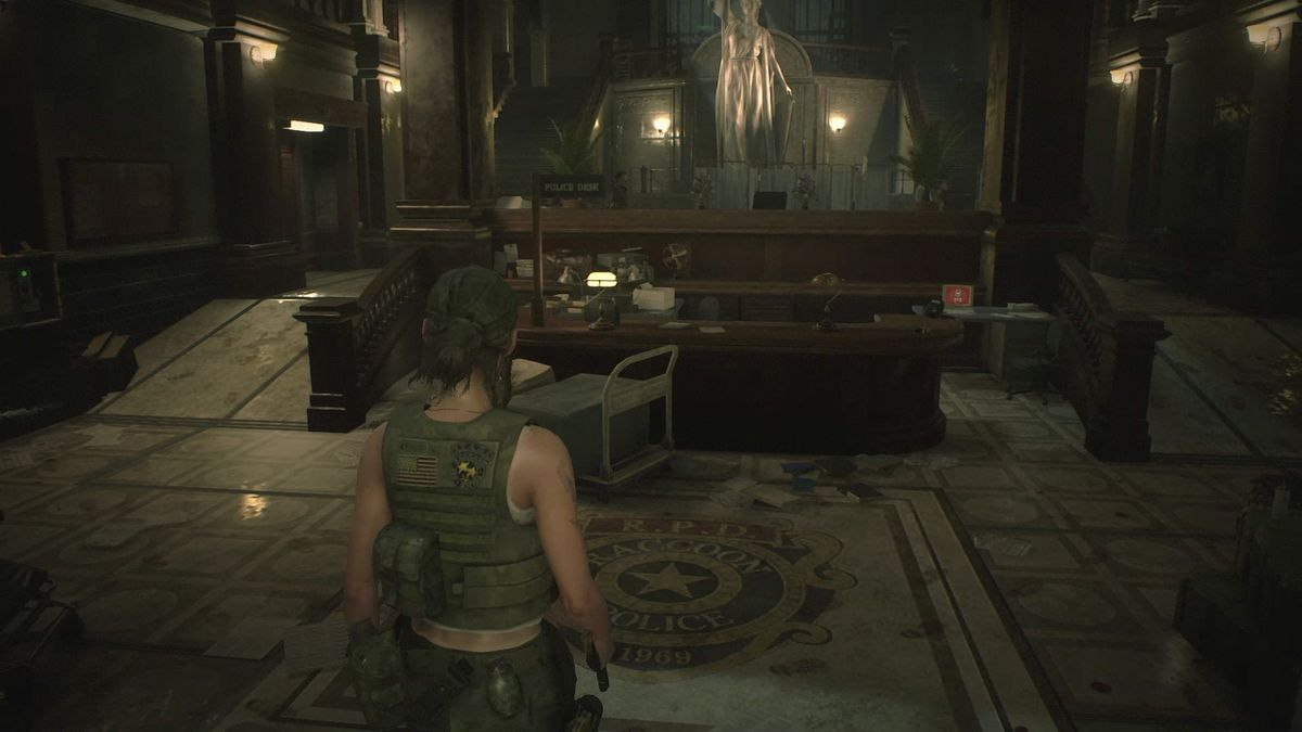 Re2 Remake Claire And Leon 2nd Walkthrough Investigate The Police Station Polygon