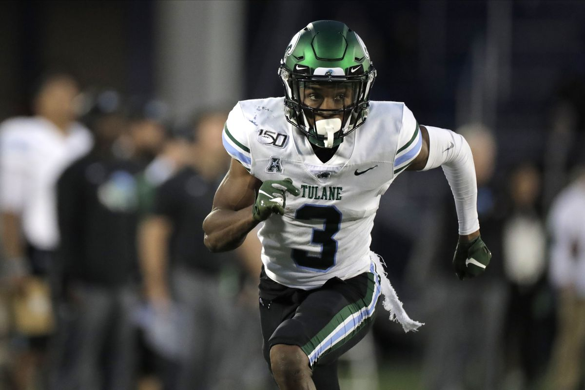 Mooney had 2,572 yards and 19 touchdowns in four seasons at Tulane. The Bears drafted him in the fifth round this year.
