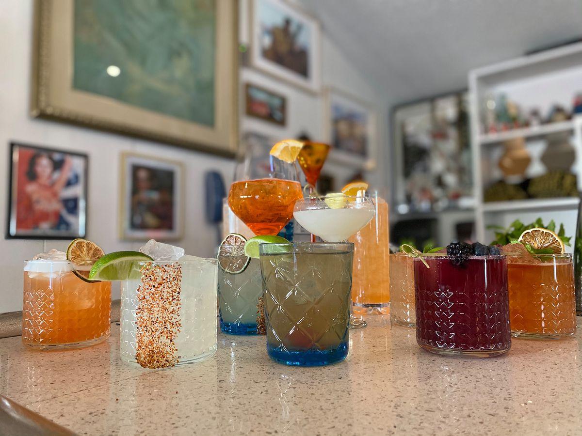 Cocktails from Kitty Cohen's
