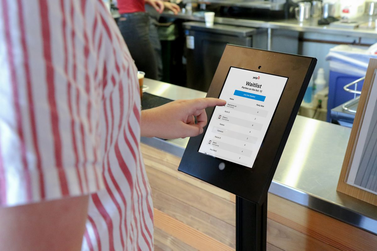 Yelp Adds Nowait Kiosks in Restaurants to Disrupt the