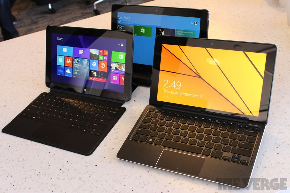 Dell unveils first four Venue tablets, including a Microsoft