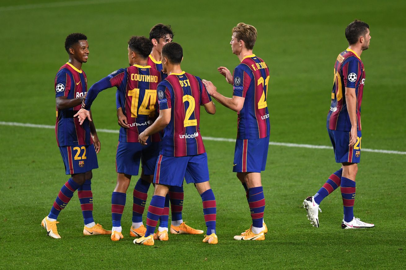 Five talking points from Barcelona 5-1 Ferencvaros