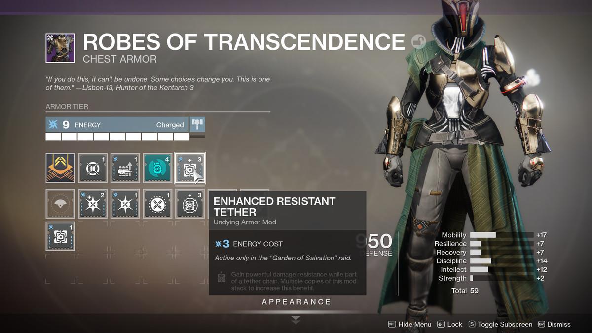 Warlock Armor 2.0 customization Destiny 2