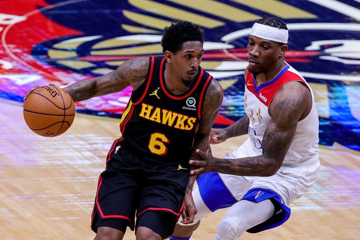 NBA: Atlanta Hawks at New Orleans Pelicans