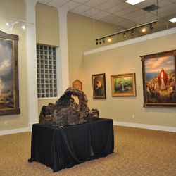 Logan Fine Art Gallery is one of several galleries in Logan.