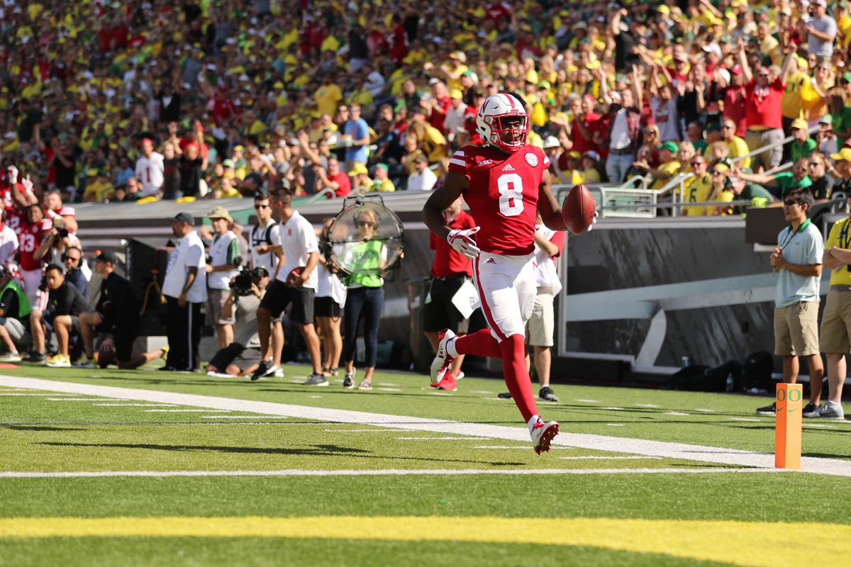 NCAA Football: Nebraska at Oregon