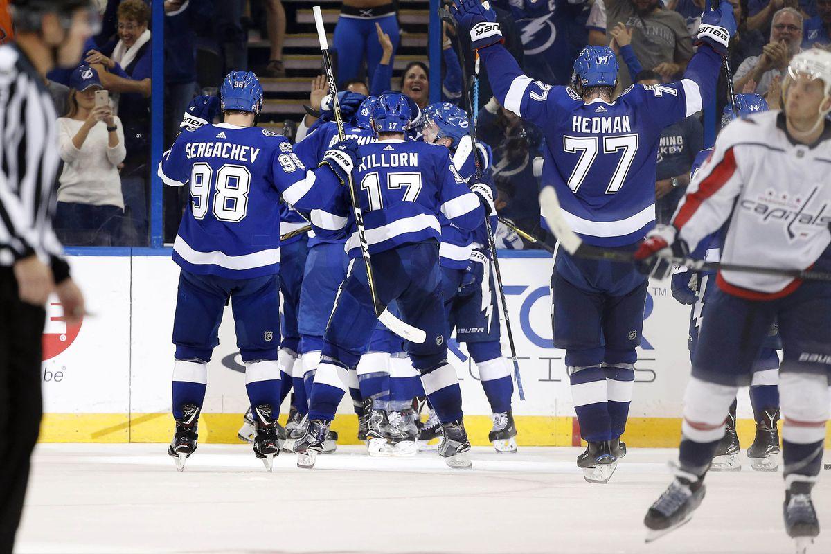 NHL: Washington Capitals at Tampa Bay Lightning
