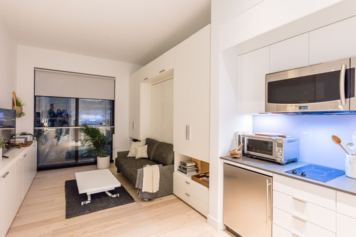 Inside the Surprisingly Spacious Model Unit at NYC\'s First Micro ...