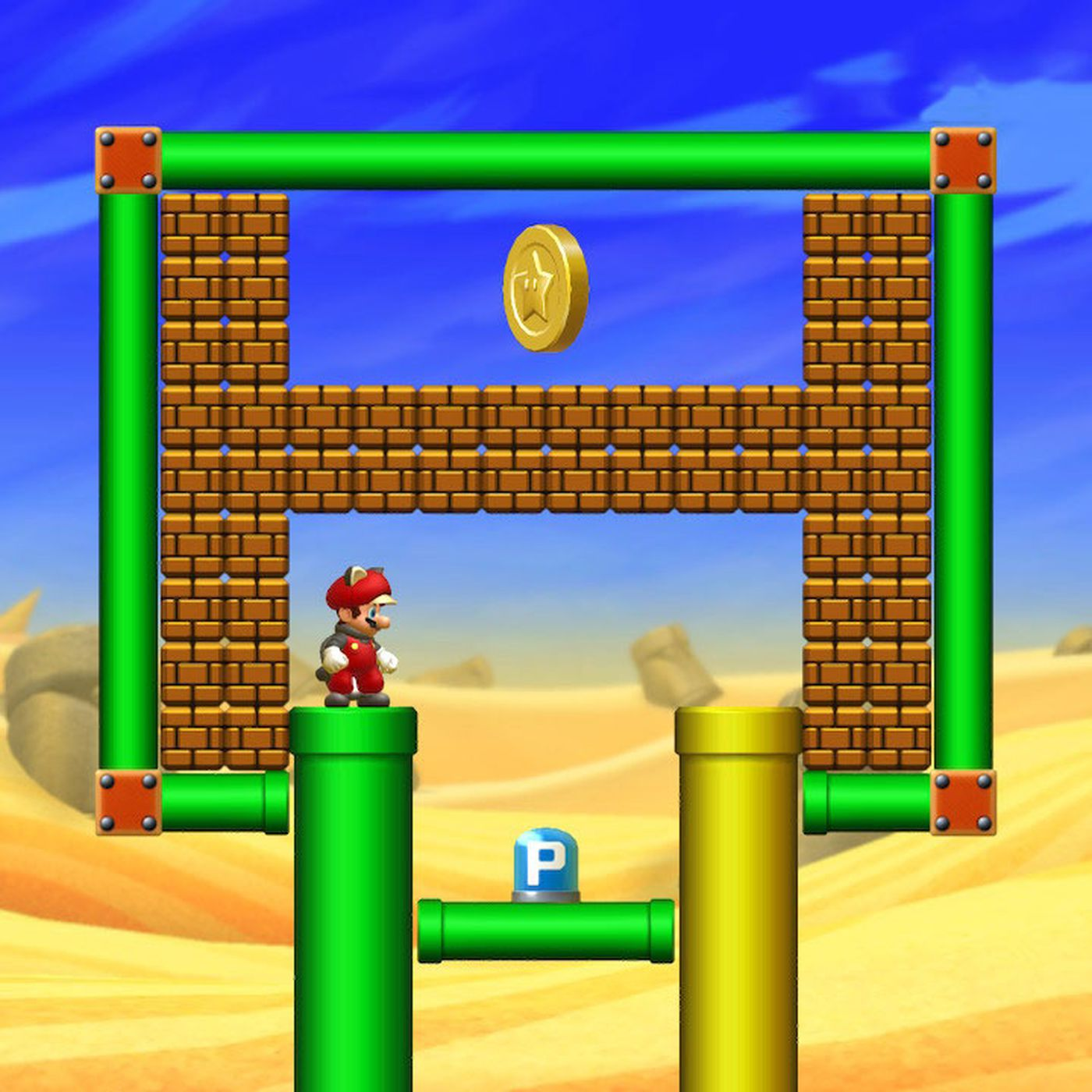 Layer Cake Desert Star Coins Locations New Super Mario Bros U Deluxe Guide Polygon
