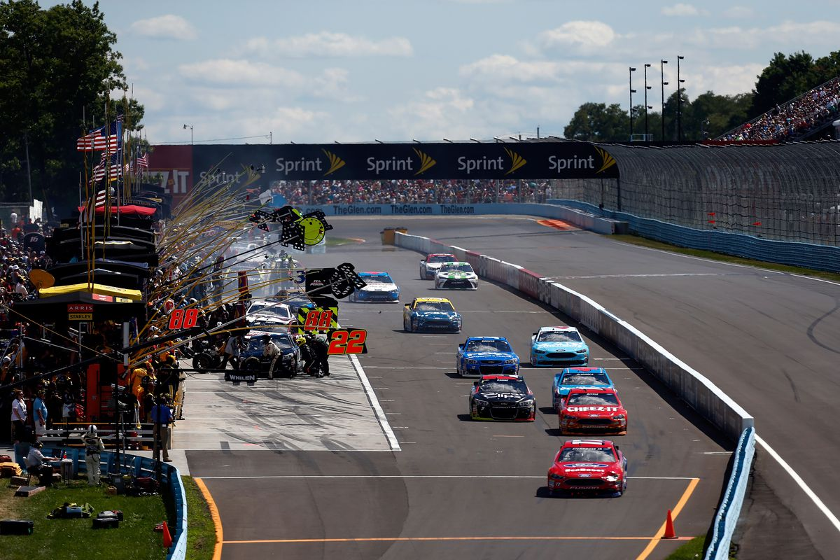 NASCAR Sprint Cup Series Cheez-It 355
