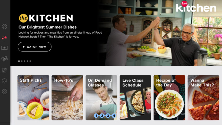 Food Network S Peloton Style Streaming Service Will Bring Guy Fieri Into Your Kitchen The Verge