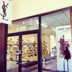 Yes, people. A <b>Saint Laurent</b> outlet EXISTS. Nearly everything in-store was 30% off, which is still pretty pricey, but we'll take it.