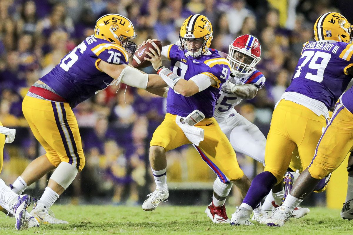huge selection of a613a 08b48 Ole Miss vs. LSU 2018 live stream: Time, TV channel, and ...