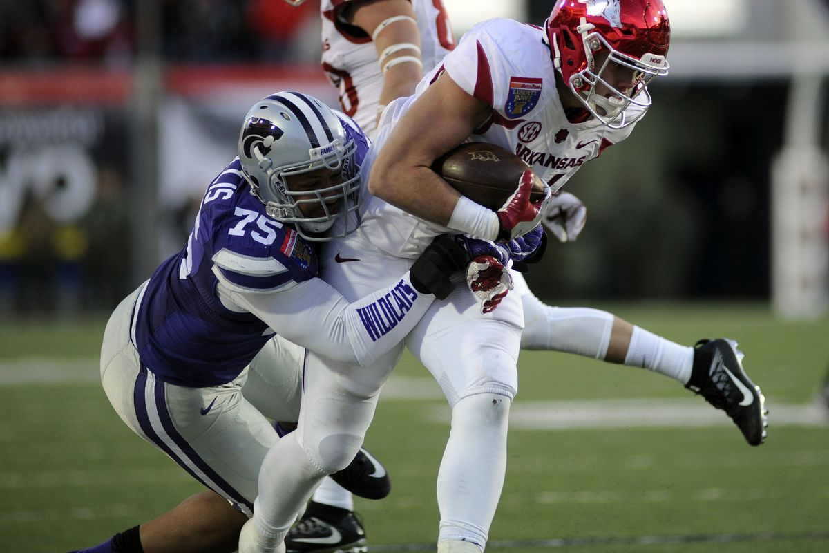 Jordan Willis capped a standout 2015 season with a 3.5-sack performance in the Liberty Bowl against Arkansas, tying for third in K-State bowl history. Now we need more.