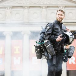 Richard Browning, inventor of the Gravity Industries Jet Suit.  | James Foster/For the Sun-Times