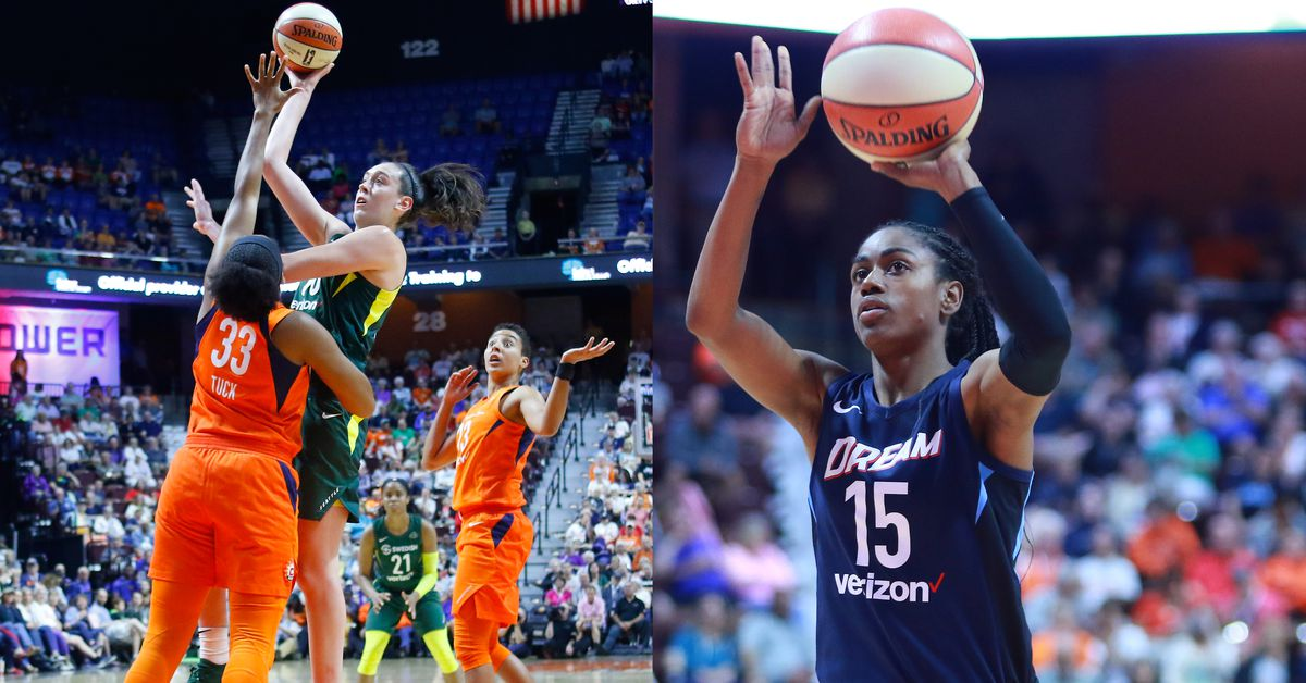 Former Uconn Stars Breanna Stewart And Tiffany Hayes Named Wnba Players Of The Month
