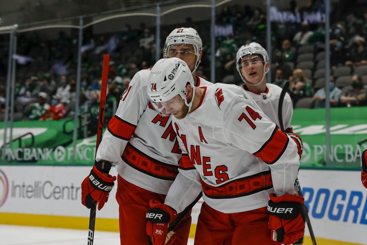 NHL: APR 26 Hurricanes at Stars