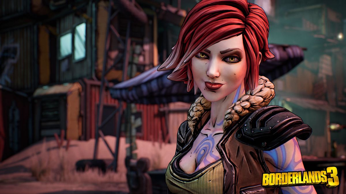 Lilith from Borderlands 2 smiles at the camera in Borderlands 3