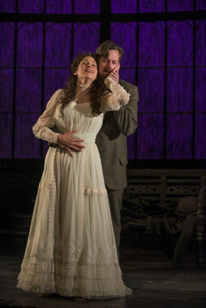 """Jennie Sophia and Rob Lindley as Lily and Archibald Craven in """"The Secret Garden"""" at Court Theatre. (Photo: Michael Brosilow)"""