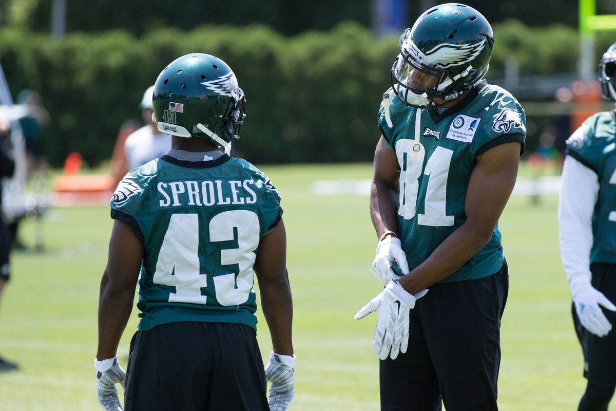 Darren Sproles is one of the shortest players in the NFL.