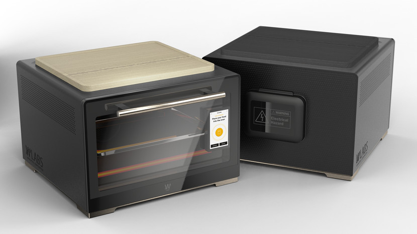 Renders of the Smart Countertop Oven show a slightly boxy looking device.