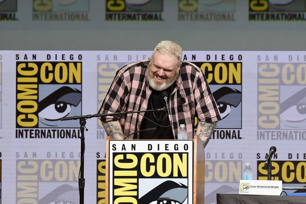 Comic-Con International 2017 - 'Game Of Thrones' Panel And Q+A Session
