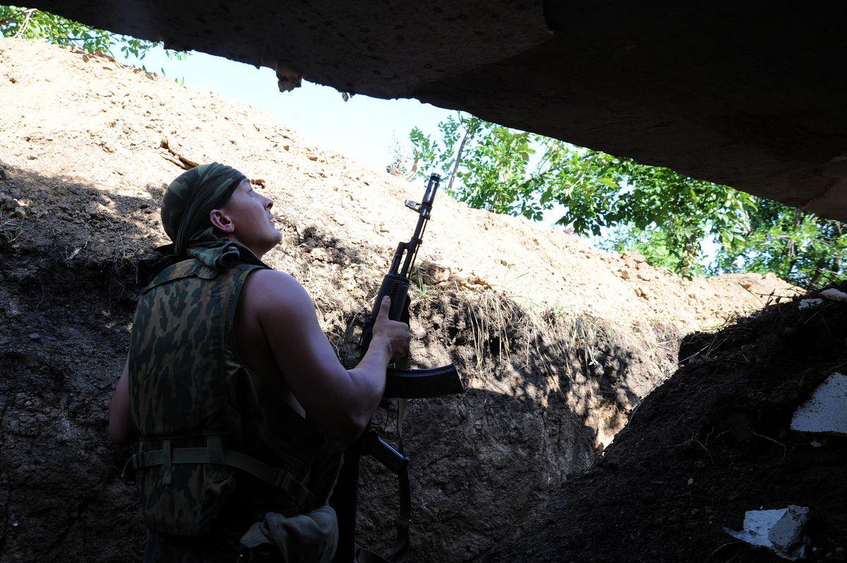 pro-Russian ukrainian militant DOMINIQUE FAGET/AFP/Getty Images)