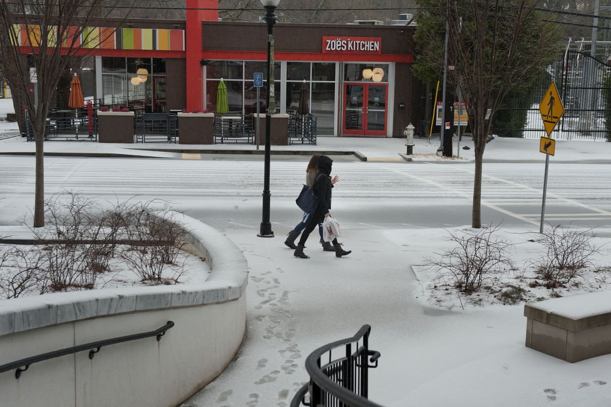 Winter weather is forcing many local restaurants to close shop.