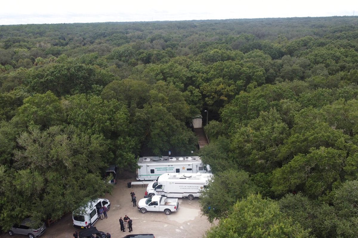 A look at the Carlton Reserve in the Sarasota, Fla., where police are looking for Brian Laundrie.