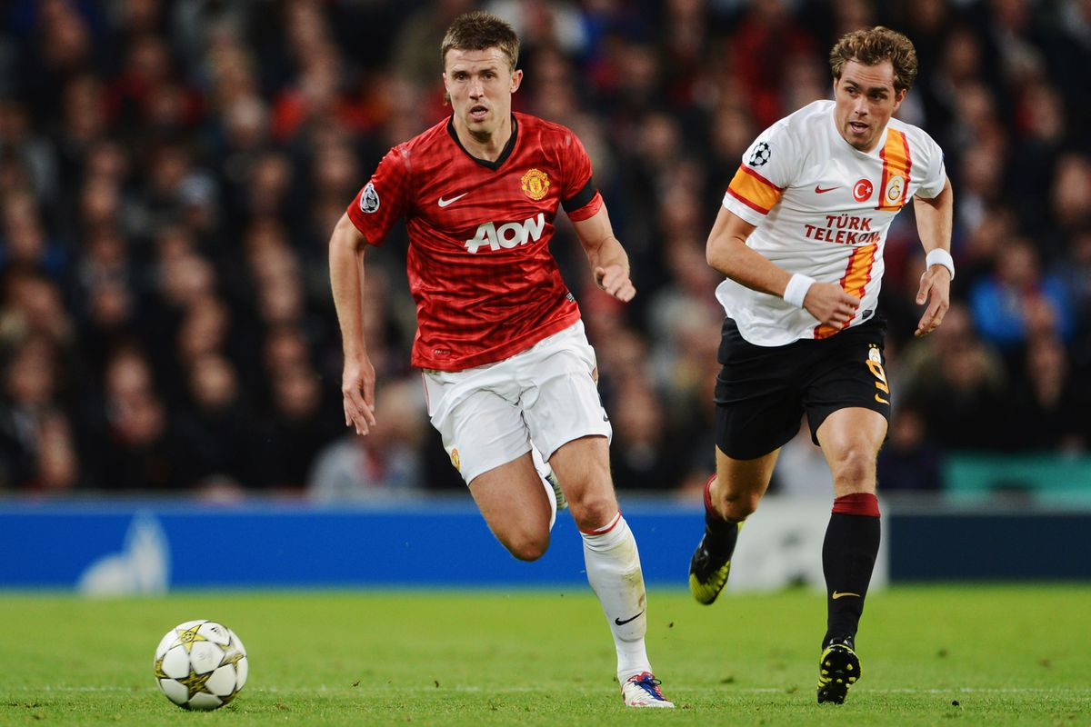Michael Carrick is the stalwart of Manchester United's midfield