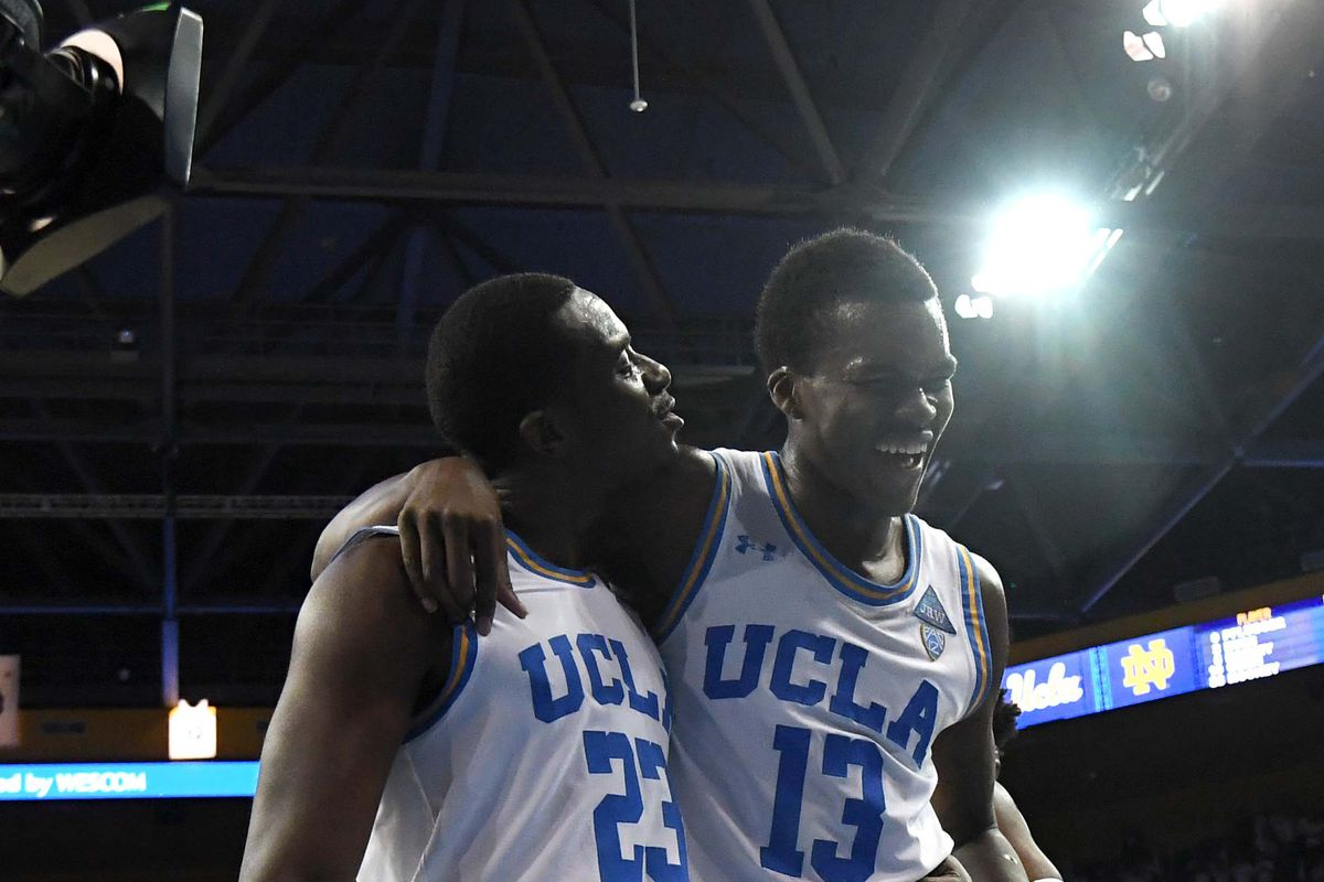 54ad3ac40 UCLA Basketball News Roundup: Kris Wilkes Gets His Reggie Miller Moment. New  ...