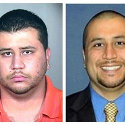 This photo combo shows George Zimmerman. At left is a 2005 booking photo provided by the Orange County Jail via The Miami Herald, and at right is an undated but recent photo of Zimmerman taken from the Orlando Sentinel's website showing Zimmerman, according to the paper. Zimmerman, a neighborhood watch volunteer in the town of Sanford, Fla., told police he shot unarmed 17-year-old Trayvon Martin on Feb. 26. The photo of Zimmerman at right is a sharp contrast from the widely used 2005 booking photo from an arrest in Miami Dade County. (AP Photo)