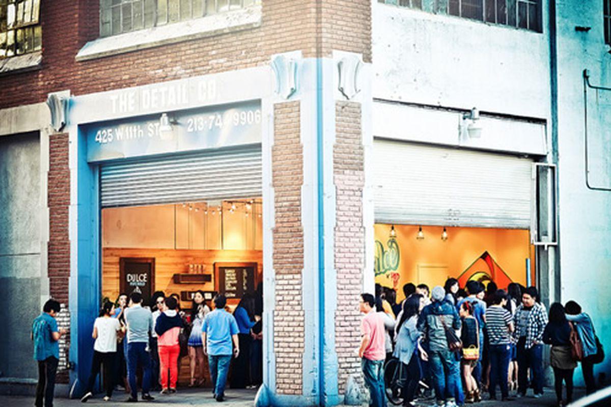Café Dulcé Pop Hold Up, Grand Opening, LA