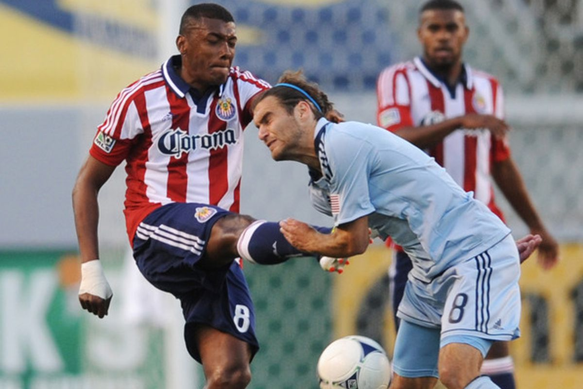 Minda: Carried the torch for Chivas USA in the yellow card department.