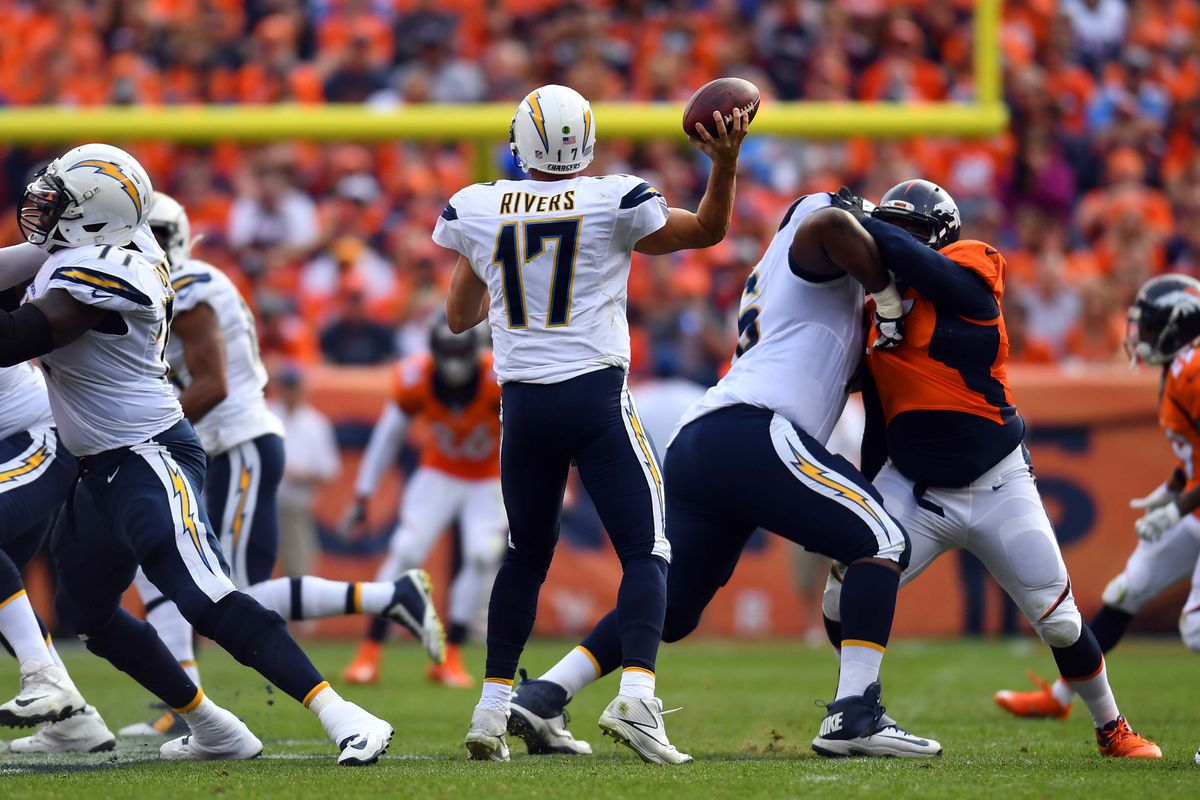 Chargers Vs Broncos Monday Night Football Open Thread