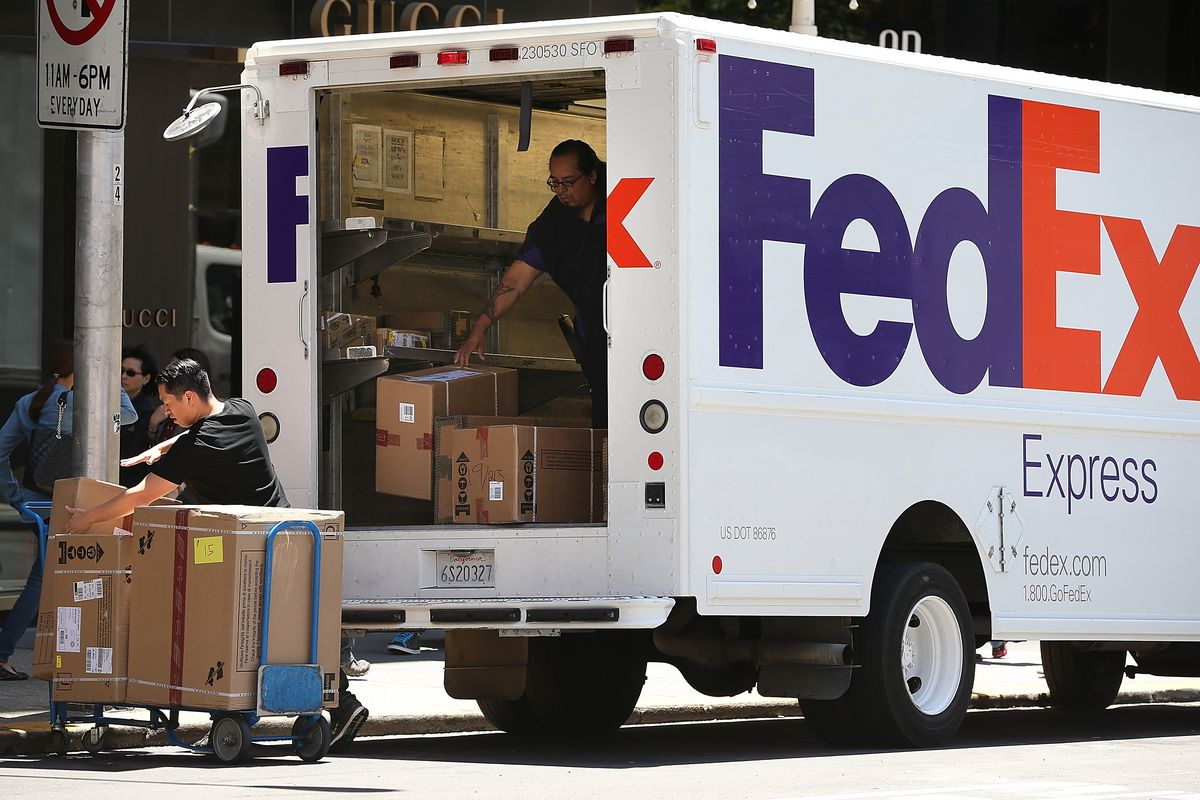 FedEx Reports Sharp Decline In Quarterly Profits