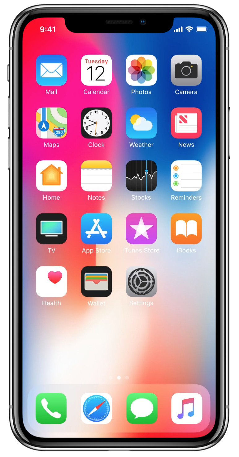 c2a18ae239a Visually, it's Apple's most impressive and futuristic iPhone design ever  thanks to the 5.8-inch edge-to-edge OLED screen on the front and its  stainless ...