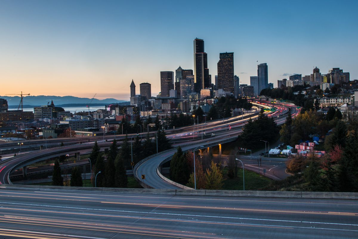 seattle weekend traffic and transit coffee a 10k and i 5 work curbed seattle. Black Bedroom Furniture Sets. Home Design Ideas