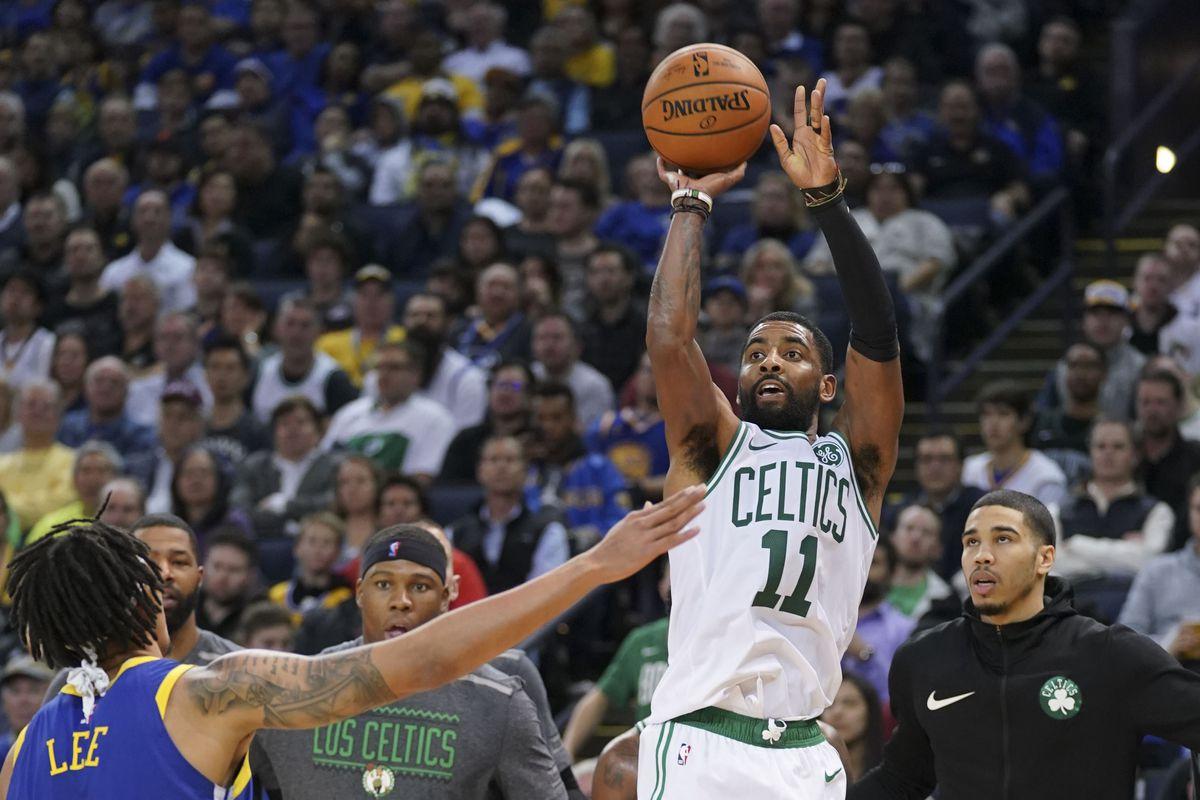 0e4029e3232e Kyrie Irving says the Celtics  long plane ride helped them out ...