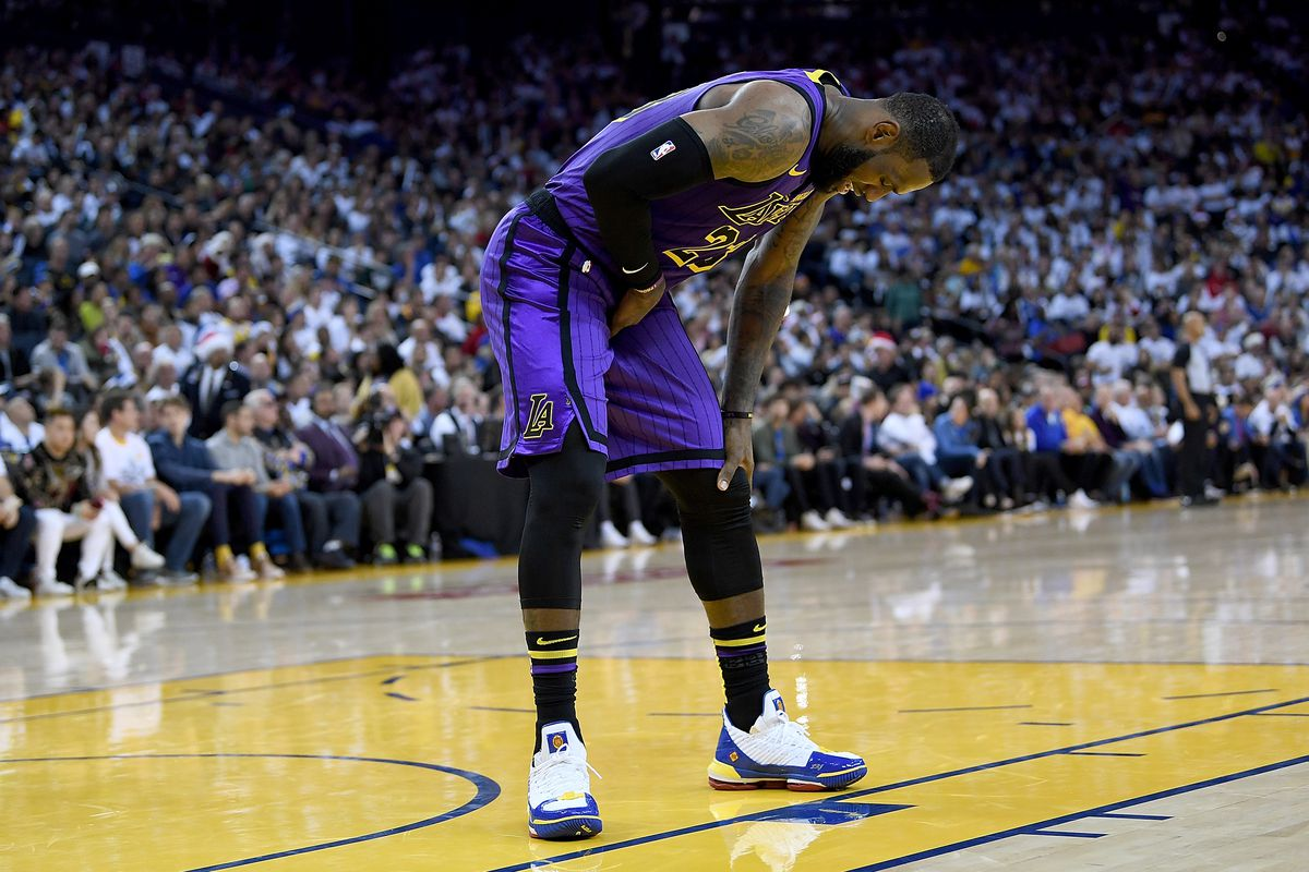 e2db070c72882 Lakers  Three things you need to know about LeBron James  groin ...
